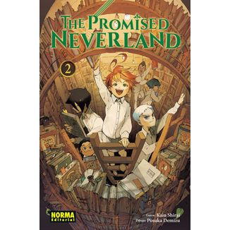 The Promised Neverland #02 (spanish) Manga Oficial Norma Editorial