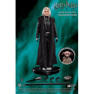 Figura Lucius Malfoy y Dobby Harry Potter MFM