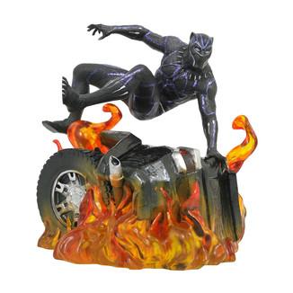 Estatua Black Panther Marvel Movie Gallery