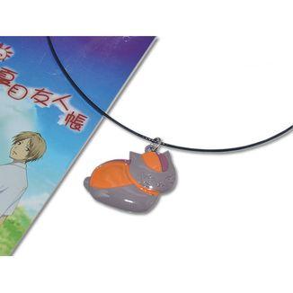 Colgante Natsume Yuujinchou San - Nyanko Sensei gris