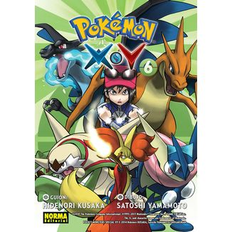 Pokemon X Y #06 Manga Oficial Norma Editorial