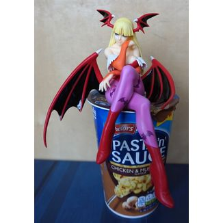 Darkstalkers Morrigan 2P Color Noodle Stopper Figure