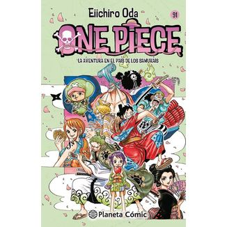 One Piece #91 Manga Oficial Planeta Comic (Spanish)