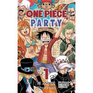 One Piece Party #01 Manga Oficial Planeta Comic (Spanish)