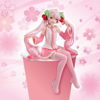 Figura Sakura Miku Vocaloid Noodle Stopper