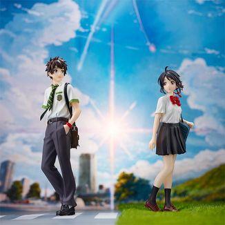 Taki Tachibana & Mitsuha Miyamizu Figure Set Your Name Pop Up Parade
