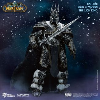 Figura Arthas Menethil World of Warcraft Wrath of the Lich King Dynamic 8ction Heroes