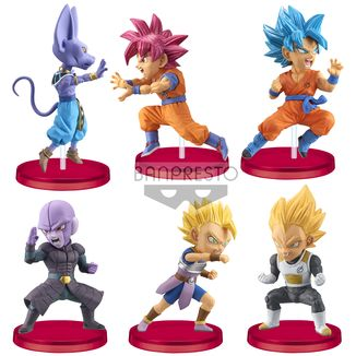 Figura Battle of Saiyans Vol 5 Dragon Ball Super WCF Set
