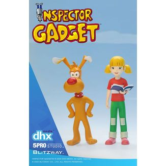 Brain & Penny Figure Inspector Gadget Mega Hero