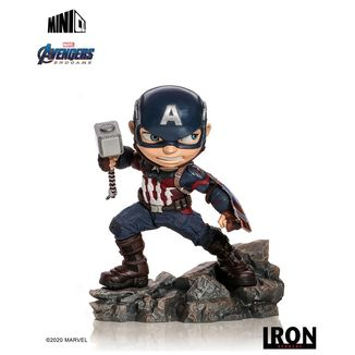 Figura Captain America Los Vengadores Endgame Mini Co