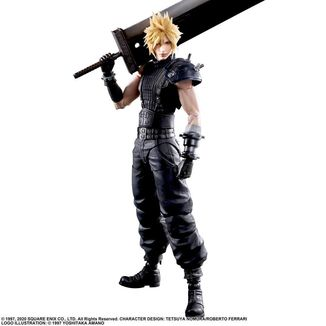 Cloud Strife version 2 Figura Final Fantasy VII Remake Play Arts Kai