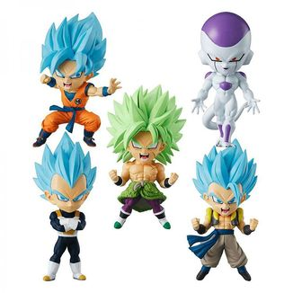 Dragon Ball Super Chibimasters Vol 1 Figure Set