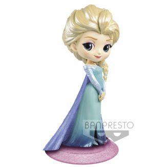 Figura Elsa Frozen Disney Q Posket Glitter Line