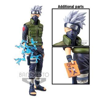 Figura Hatake Kakashi Naruto Shippuden Grandista Nero