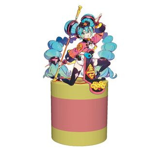 Hatsune Miku China Dress Figure Vocaloid Noodle Stopper