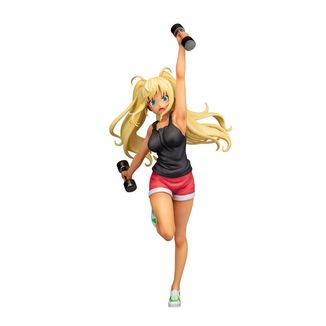 Figura Hibiki Sakura How Heavy Are the Dumbbells You Lift?