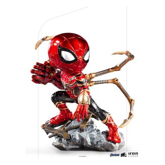 Iron Spider Figure Avengers Endgame Mini Co