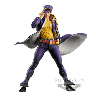 Figura Jotaro Kujo Jojo's Bizarre Adventure Stardust Crusaders Super Master Stars Piece THE BRUSH