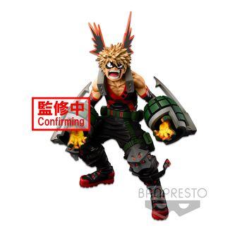 Figura Katsuki Bakugo My Hero Academia BWFC Super Master Stars Piece The Brush