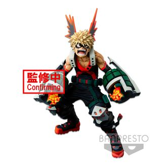 Figura Katsuki Bakugo My Hero Academia BWFC Super Master Stars Piece Two Dimensions