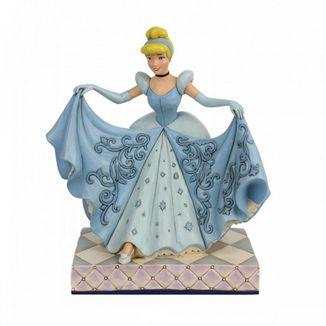 Cinderella Figure Crystal Shoe Jim Shore Disney Traditions