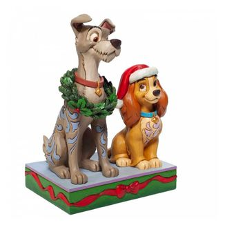 Lady and Tramp Figure Christmas The Lady and The Tramp Jim Shore Disney Traditions