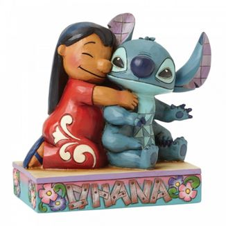 Lilo & Stitch Figure Ohana Means Family Disney Showcase Collection