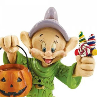 Dopey Figure Trick or Treating Snow White Disney Traditions
