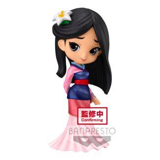 Figura Mulan Glitter Line Disney Q Posket