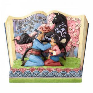 Mulan Story Book Mulan Jim Shore Figure Disney Traditions