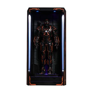 Figura Neon Tech War Machine Hall of Armor Iron Man 2 MMS Compact Series