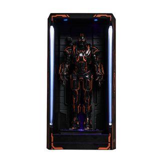 Figura Neon Tech War Machine Hall of Armor Iron Man 2 MMS Compact Series