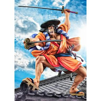 Oden Kozuki Figure One Piece P.O.P. Warriors Alliance