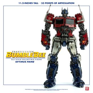 Optimus Prime DLX Figure Transformers Bumblebee