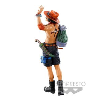 Portgas D Ace One Piece Figure BWFC Super Master Stars Piece Two Dimensions