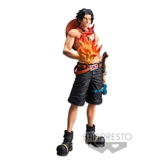 Figura Portgas D Ace One Piece Grandista Nero