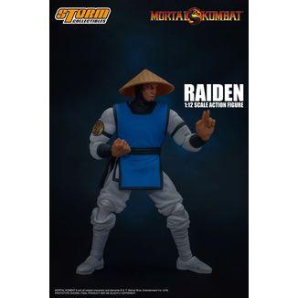 Figura Raiden Mortal Kombat
