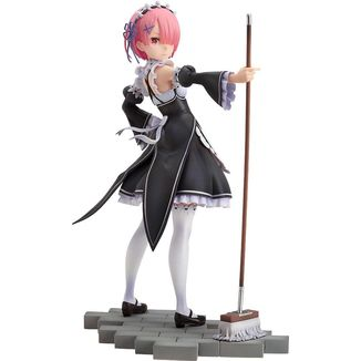 Figura Ram with Broom Re:Zero