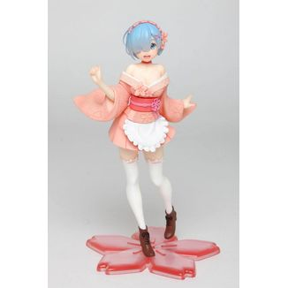 Rem Sakura Figure Re:Zero