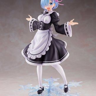 Rem Winter Maid Image Figure Re:Zero Artist Masterpiece