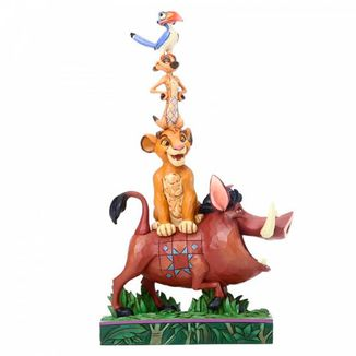 Figura Rey Leon Balance of Nature Jim Shore Disney Traditions