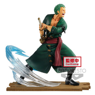Figura Roronoa Zoro One Piece Log File Selection Fight Vol 1