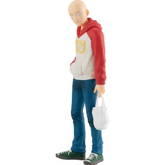 Figura Saitama Oppai Hoodie Ver. One Punch Man Pop Up Parade
