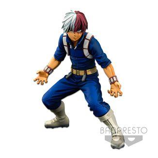 Shoto Todoroki Figure My Hero Academia BWFC Super Master Stars Piece Two Dimensions