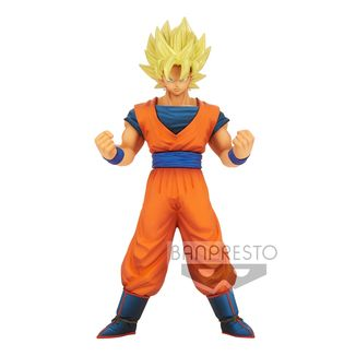 Son Goku SSJ Figure Dragon Ball Z Burning Fighters