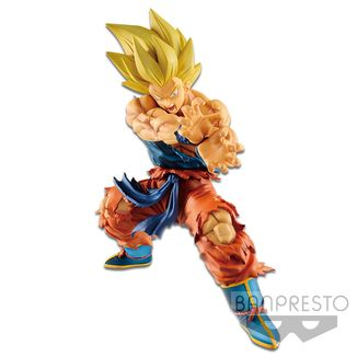 Son Goku SSJ Kamehameha Figure Dragon Ball Legends Collab
