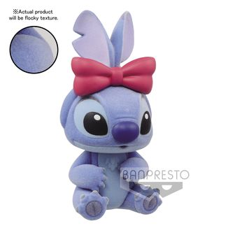 Stitch Figure Disney Characters Fluffy Puffy Stitch & Angel