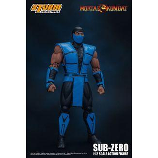 Figura Sub Zero Mortal Kombat