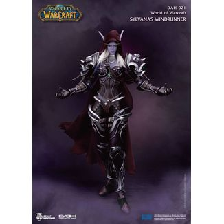 Figura Sylvanas Windrunner World of Warcraft Battle for Azeroth Dynamic 8ction Heroes