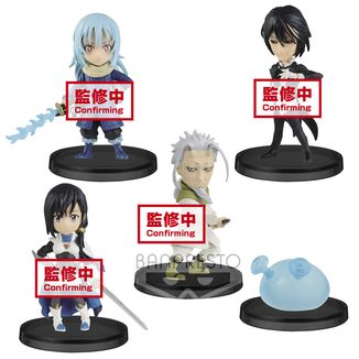 Figura That Time I Got Reincarnated as a Slime Vol 3 WCF Set